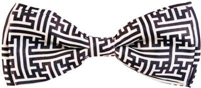 Blacksmith Aztec Pillarsdesign Bow Geometric Print Men Tie