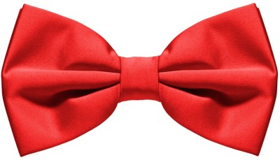 Civil Outfitters Red Bow Solid Men Tie at flipkart