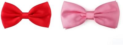 Eccellente Solid Tie Pack of 2 Eccellente Ties and Cufflinks
