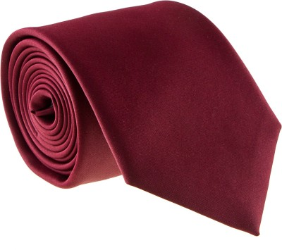 Zebru Solid Tie at flipkart