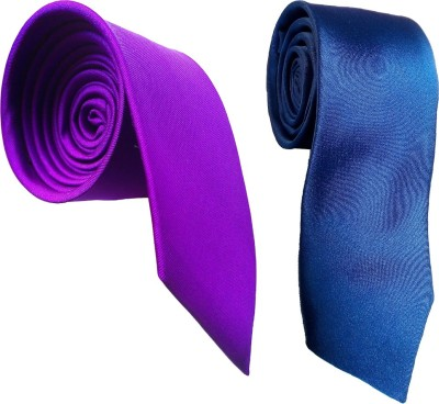 WSD Solid Tie(Pack of 2) Flipkart