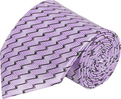 AttireArtist Subtle Make Self Design Men's Tie