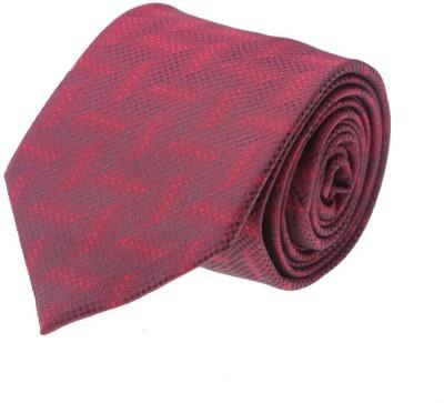 Pacific Gold Month Woven Men's Tie at flipkart