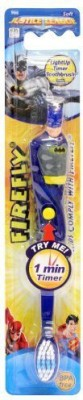 Firefly Firefly Flashing Toothbrush Batman 1 Minute Timer Extra Soft Toothbrush