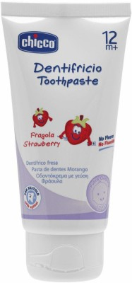 Chicco Strawberry Flavoured Toothpaste Toothpaste(50 ml)  available at flipkart for Rs.245