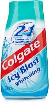 Colgate Icy Blast Whitening 2 in 1 Toothpaste & Mouthwash 100 mL