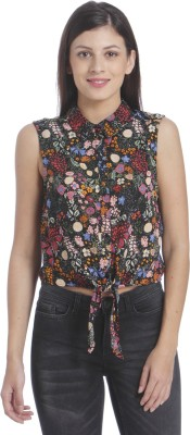 ONLY Casual Sleeveless Printed Women Multicolor Top ONLY Women's Tops