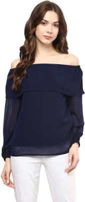 American Crew Casual Full Sleeve Solid Women