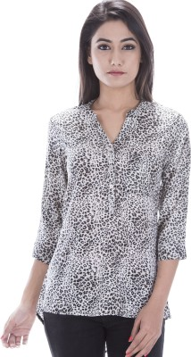 Amadore Casual 3/4th Sleeve Animal Print Women