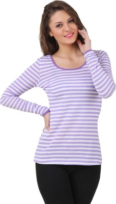 Texco Casual Full Sleeve Striped Women