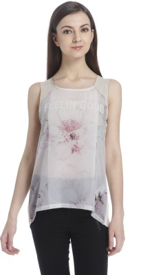Ombre Lane Casual Sleeveless Floral Print Women