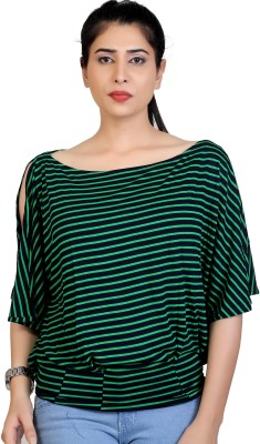 Carrel Casual 3/4th Sleeve Striped Women