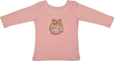 Rute Party Cotton Top(Pink, Pack of 1)