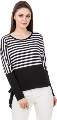 Oxolloxo Casual Full Sleeve Striped Women