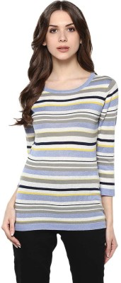 Manola Casual 3/4th Sleeve Striped Women