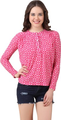 Texco Casual Full Sleeve Floral Print Women