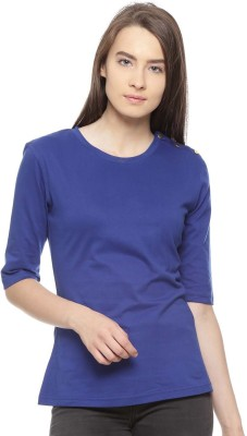 Vvoguish Casual 3/4th Sleeve Color Blocked Women
