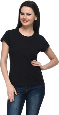 Frenchtrendz Casual Cap Sleeve Solid Women