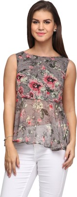 Eavan Casual Sleeveless Floral Print Women