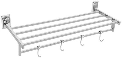 yora p106 silver Towel Holder(Stainless Steel) at flipkart
