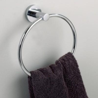 Somany 230503 Chrome Towel Holder(Brass)