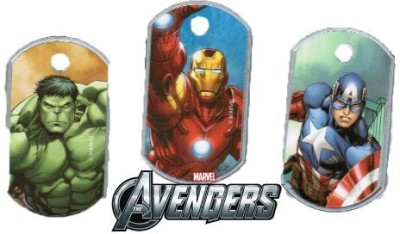 Marvel Party Favors Toy Accessory(Marvel, Avengers, Dog, Tags, Set Multicolor)  available at flipkart for Rs.1769