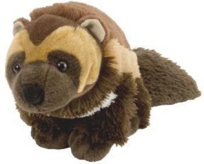 WILD REPUBLIC Cuddlekin Wolverine 12\ Brown WILD REPUBLIC Soft Toys