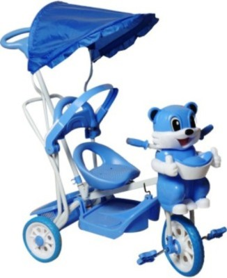 Turban Toys Musical Kitty Bjtrikkitred02 Tricycle(Multicolor)