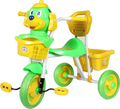 HLX-NMC Kids Scooby Puppy Tricycle Green/Yellow Tricycle(Green)  available at flipkart for Rs.1830
