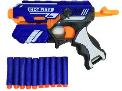 Jaywebstore Soft Bullet Gun Hot Fire Blaze Strom(Blue, Orange) at flipkart