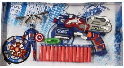 MK Enterprises Avenger Soft Bullet Blaster(Multicolor)