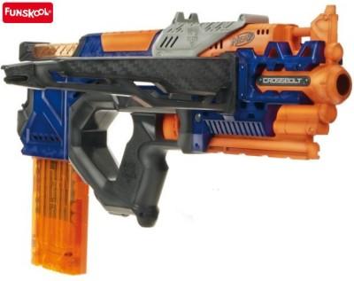 Funskool Nerf N-Strike Elite Crossbolt Blaster(Multicolor)  available at flipkart for Rs.2249