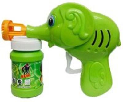 Y & J Elephant Bubble Making Toy(Green)
