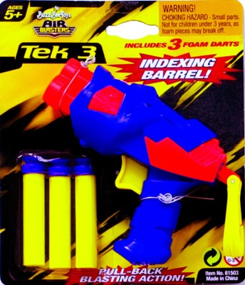 Buzz Bee Tek 3 Single Pack Tie on Card(Blue, Yellow)  available at flipkart for Rs.250