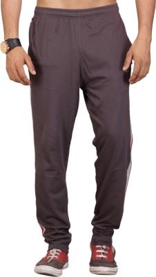 Vego Solid Men Brown Track Pants at flipkart