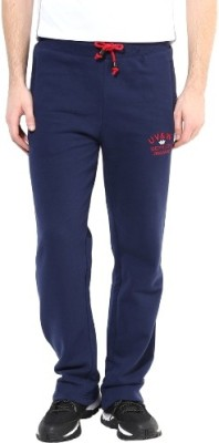 UV&W Solid Men's Blue Track Pants at flipkart