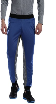 HRX by Hrithik Roshan Solid Men Blue, Grey Track Pants at flipkart