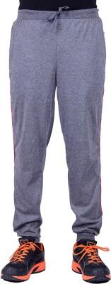 DFH Solid Men Grey Track Pants at flipkart
