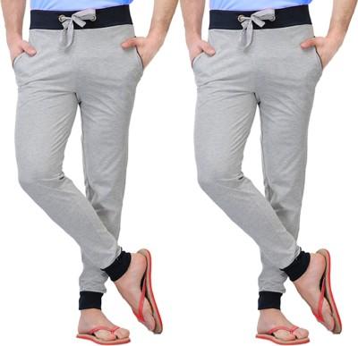 Christy World Solid Men's Multicolor Track Pants at flipkart