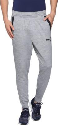 Puma Solid Men's Grey Track Pants at flipkart