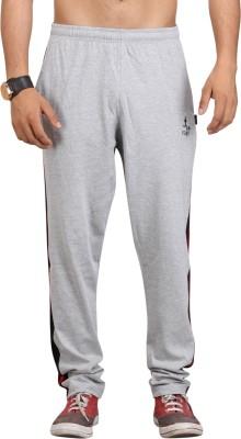 Vego Solid Men Grey Track Pants at flipkart