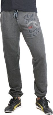 Showoff Solid Men's Grey Track Pants