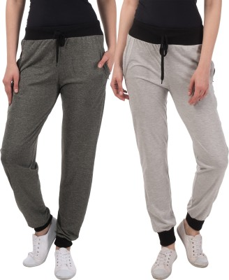 Gag Wear Solid Women Multicolor Track Pants at flipkart