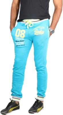 Showoff Solid Men's Light Blue Track Pants