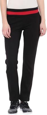 Sakhi Sang Solid Women Black, Maroon Track Pants