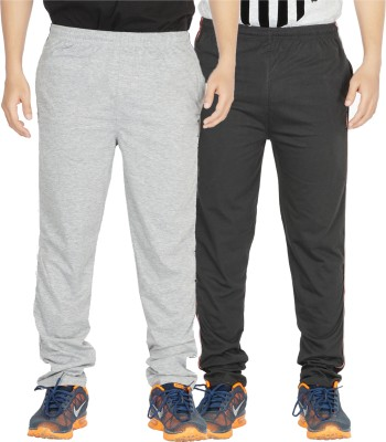 Yo Republic Solid Men Multicolor Track Pants at flipkart