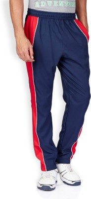 2GO Solid Men Blue, Red, White Track Pants