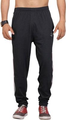 Vego Varsity Men Black Track Pants at flipkart