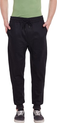 Chill Winston Solid Men's Black Track Pants