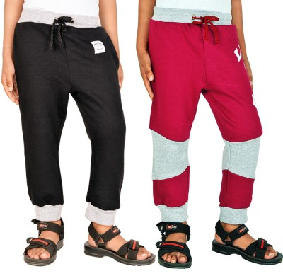 Gkidz Track Pant For Boys(Black)